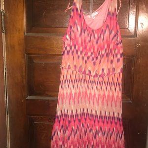 Summer Sleeveless colorful dress